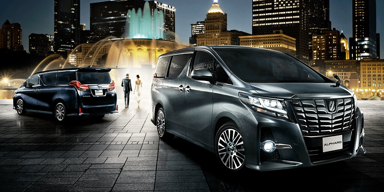 Toyota Alphard 30 Series Welcab