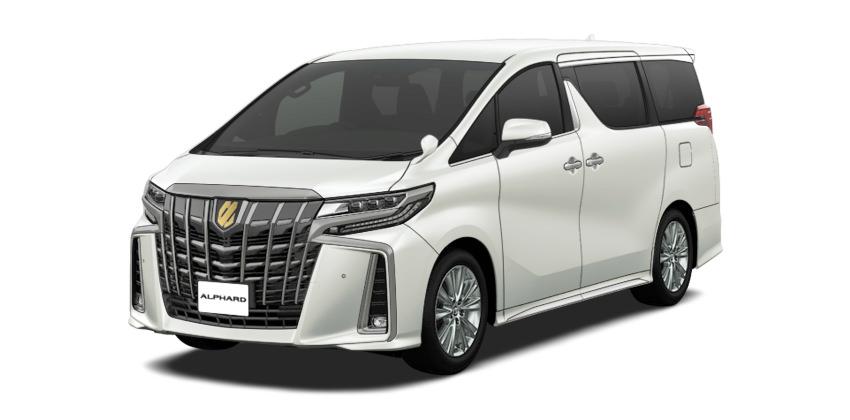 トヨタ アルファード   トヨタ自動車WEBサイト