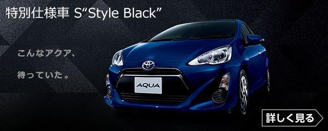"""特別仕様車 S""""Style Black"""""""