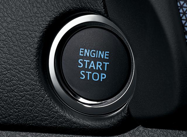 スマートエントリー(運転席・助手席・バックドア/アンサーバック機能付)&スタートシステム