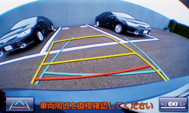 音声ガイダンス機能付カラーバックガイドモニター
