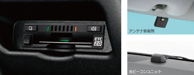 ETC2.0ユニット ナビ連動タイプ