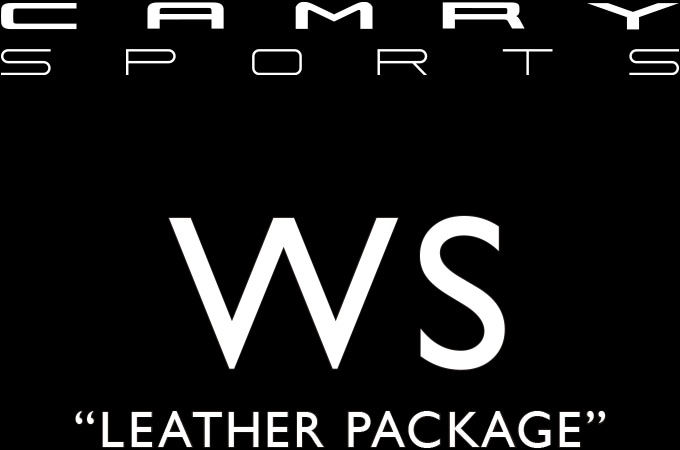 "CAMRY SPORTS WS""LEATHER PACKAGE"""