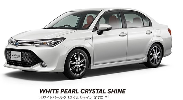 WHITE PEARL CRYSTAL SHINE
