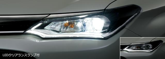 Bi-Beam LEDヘッドランプ(オートレベリング機能付)LEDクリアランスランプ付