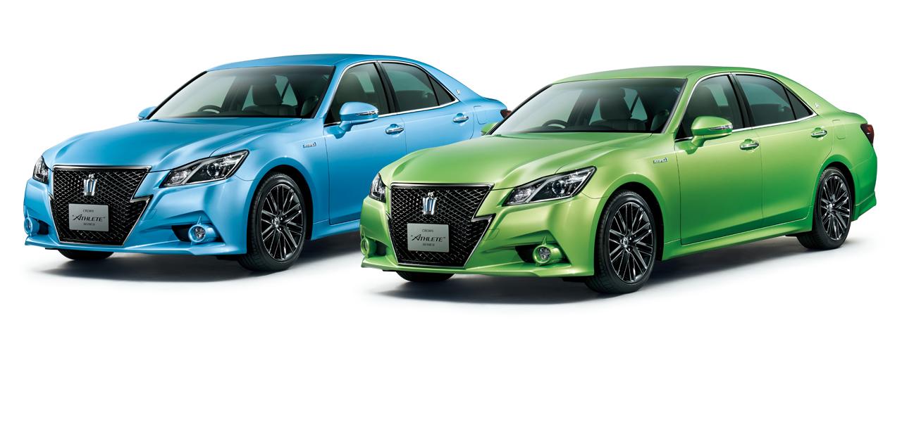 """特別仕様車 Hybrid アスリートS """"空色 edition""""[2WD] 特別仕様車 Hybrid アスリートS """"若草色 edition""""[2WD]"""