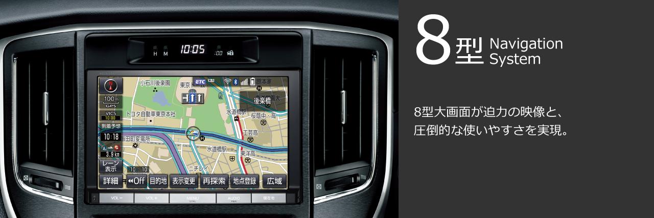 8型 NavigationSystem