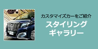 カスタマイズカーをご紹介 スタイリングギャラリー