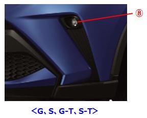 ⑧<G、S、G-T、S-T>