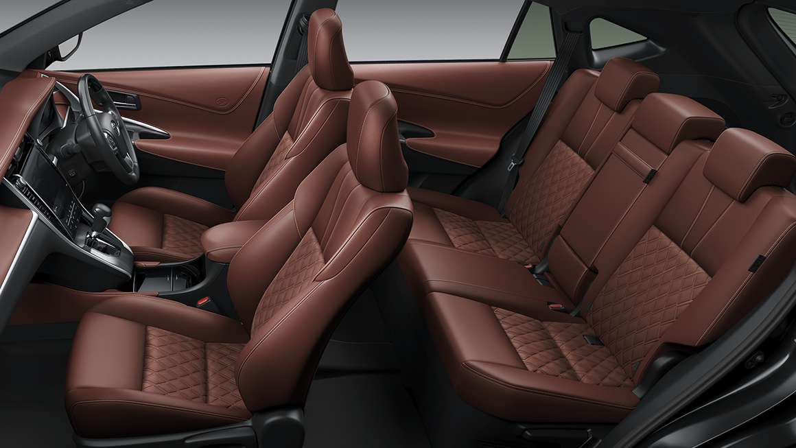 Carlineup harrier interior top pic 05 08