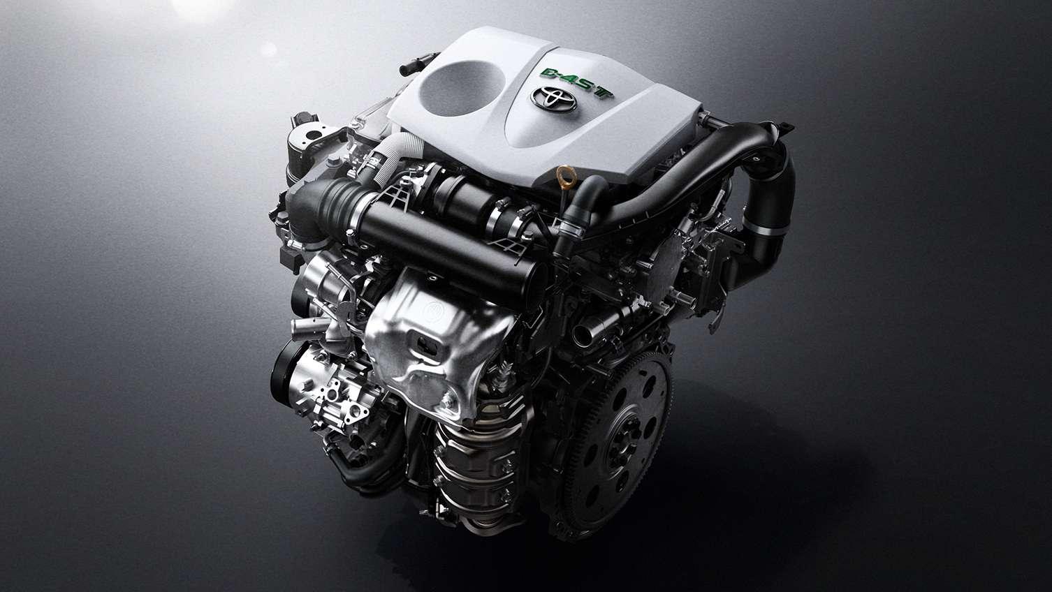 ハリアーのエンジン