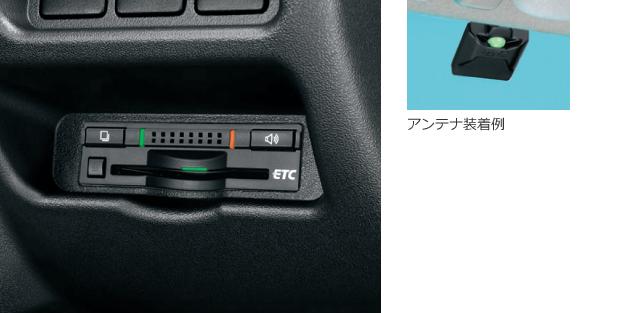ETC車載器 ビルトインタイプ(ボイスタイプ)