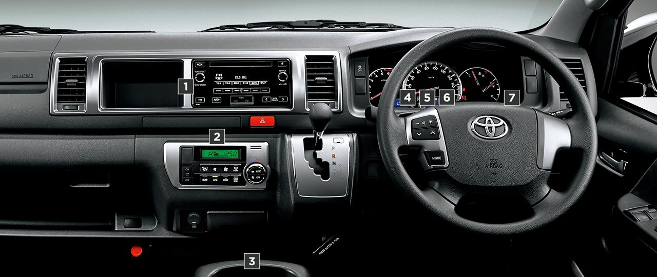 グランドキャビン。2700ガソリン・2WD。内装色はダークグレー。オプション装着車