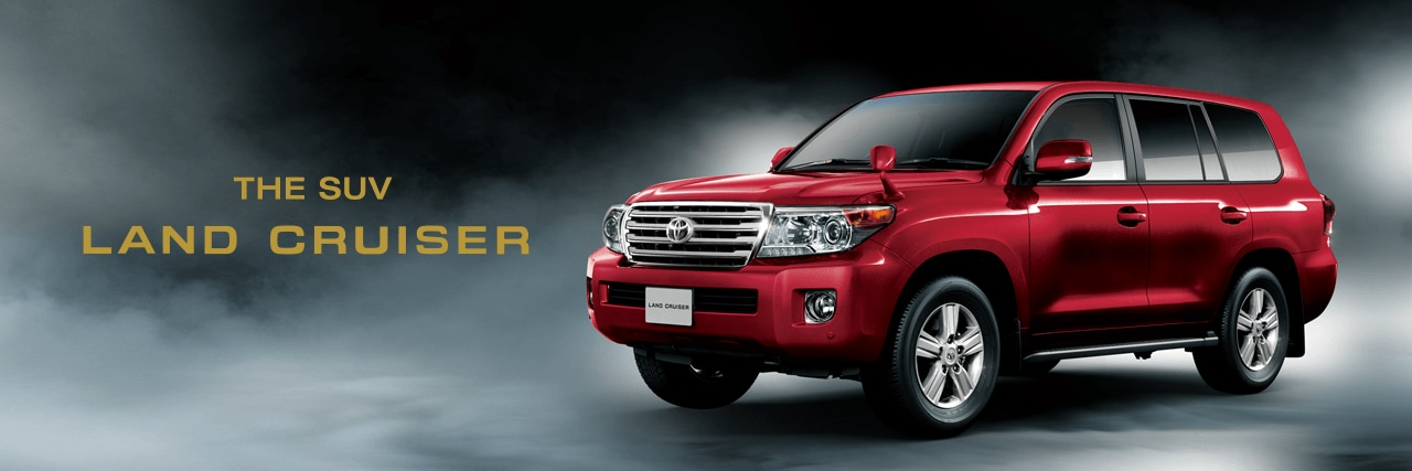 THE SUV LAND CRUISER