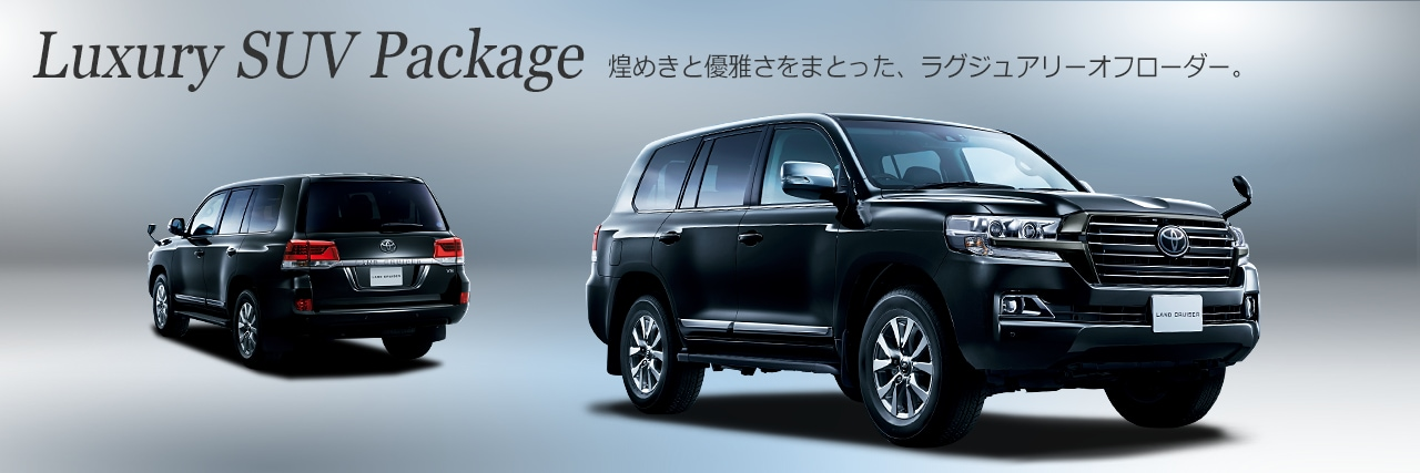 Luxury SUV Package