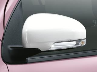 サイドターンランプ付オート電動格納式リモコンドアミラー(シンジュパールマイカ)