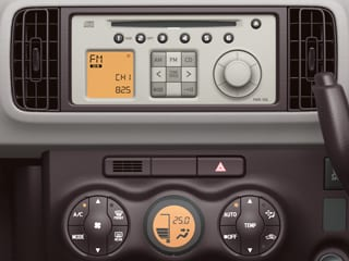 CD+AM/FM&オートエアコン