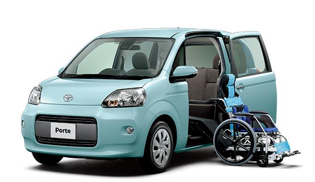 トヨタ ポルテ | ウェルキャブ(福祉車両) | サイドアクセス車(専用車いす仕様) | トヨタ自動車WEBサイト