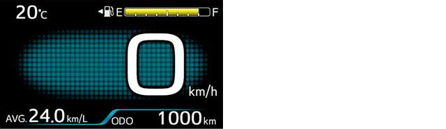 グラフィックメーター(4.2インチTFTカラー/メーター照度コントロール付)