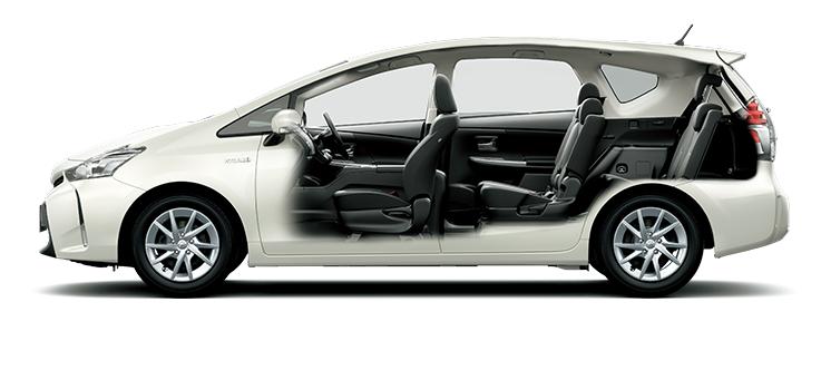 トヨタ プリウスα | トヨタ自動...