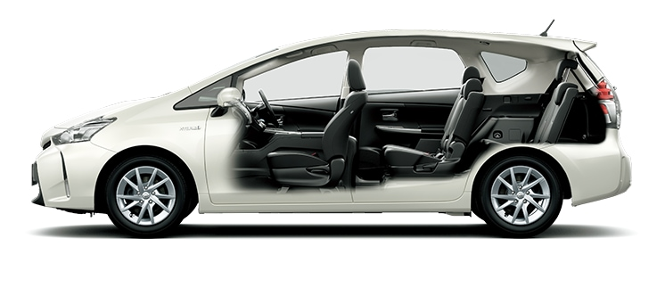 トヨタ プリウスα | トヨタ自動車WEBサイト