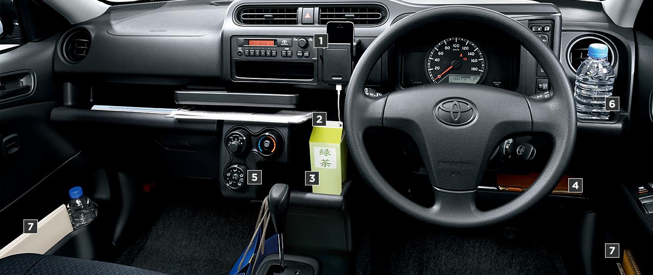GL(1.5L・2WD)。内装色はブラック。