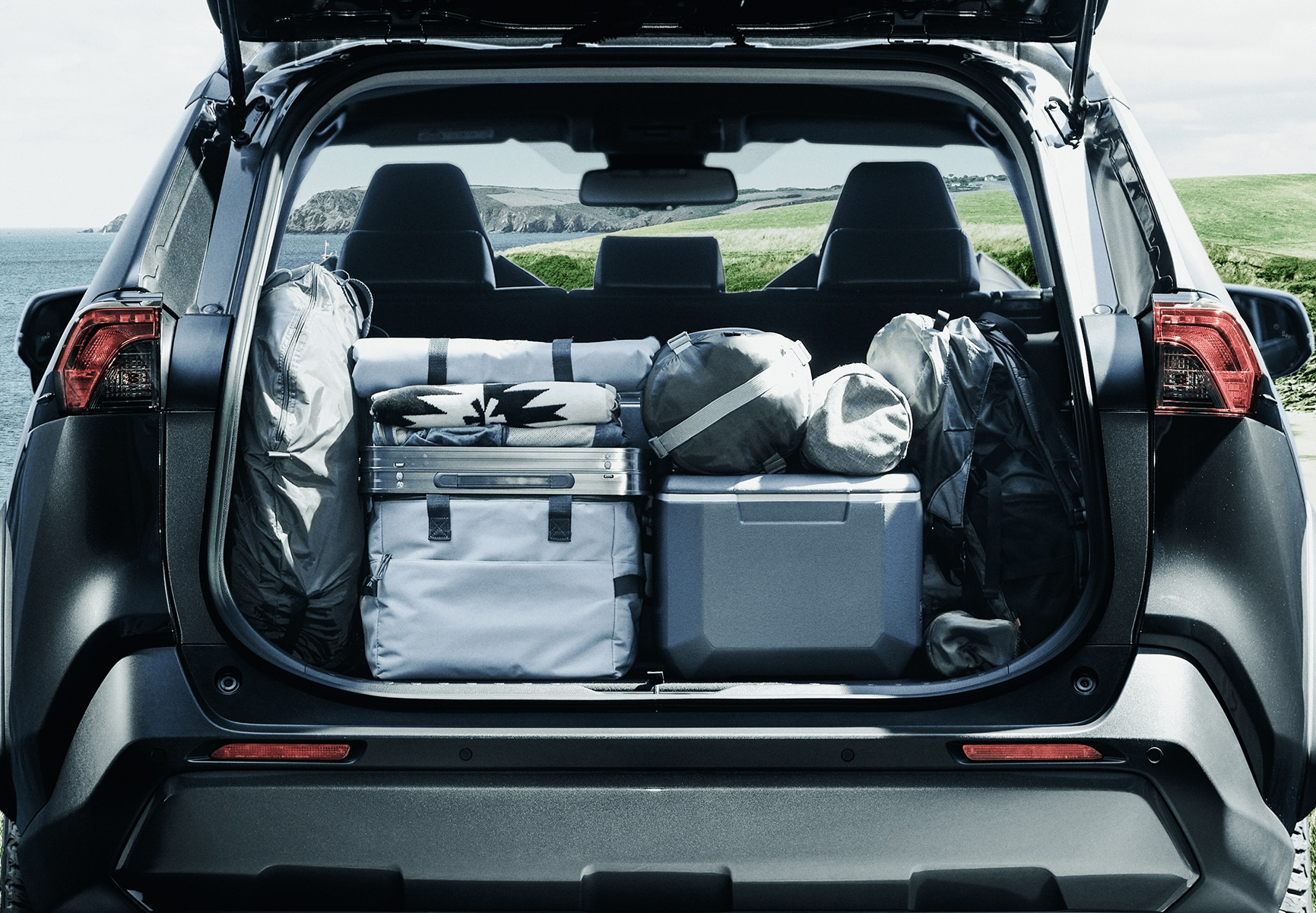 RAV4 trunk interior