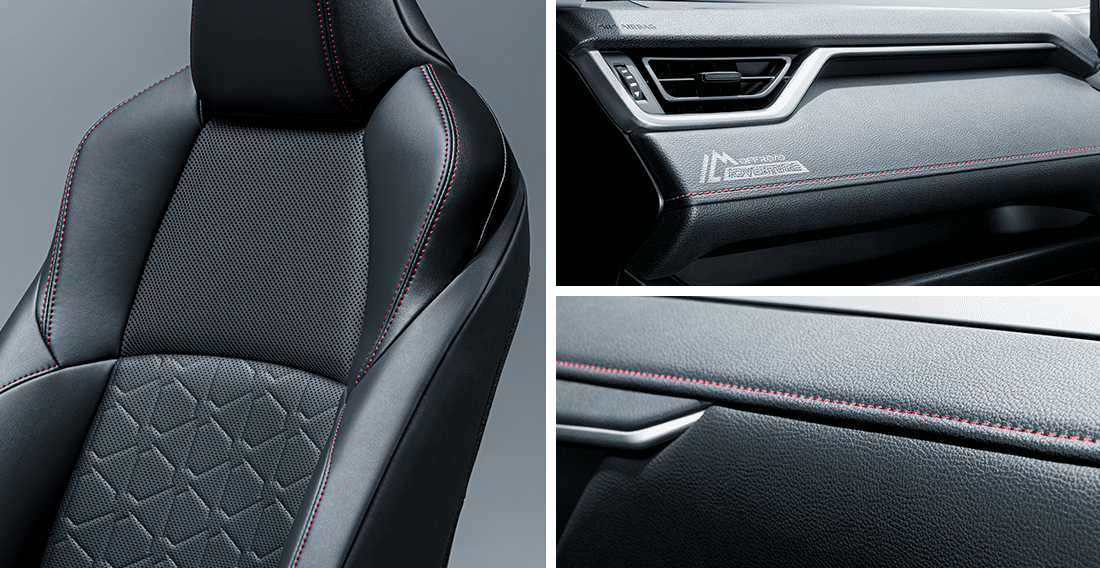 RAV4 detailed interior