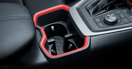 RAV4 cup holder interior