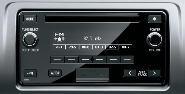 CD・AM/FM(USB/AUX 端子付)