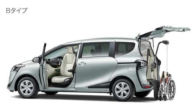 助手席回転チルトシート車+手動車いす用収納装置<電動式>