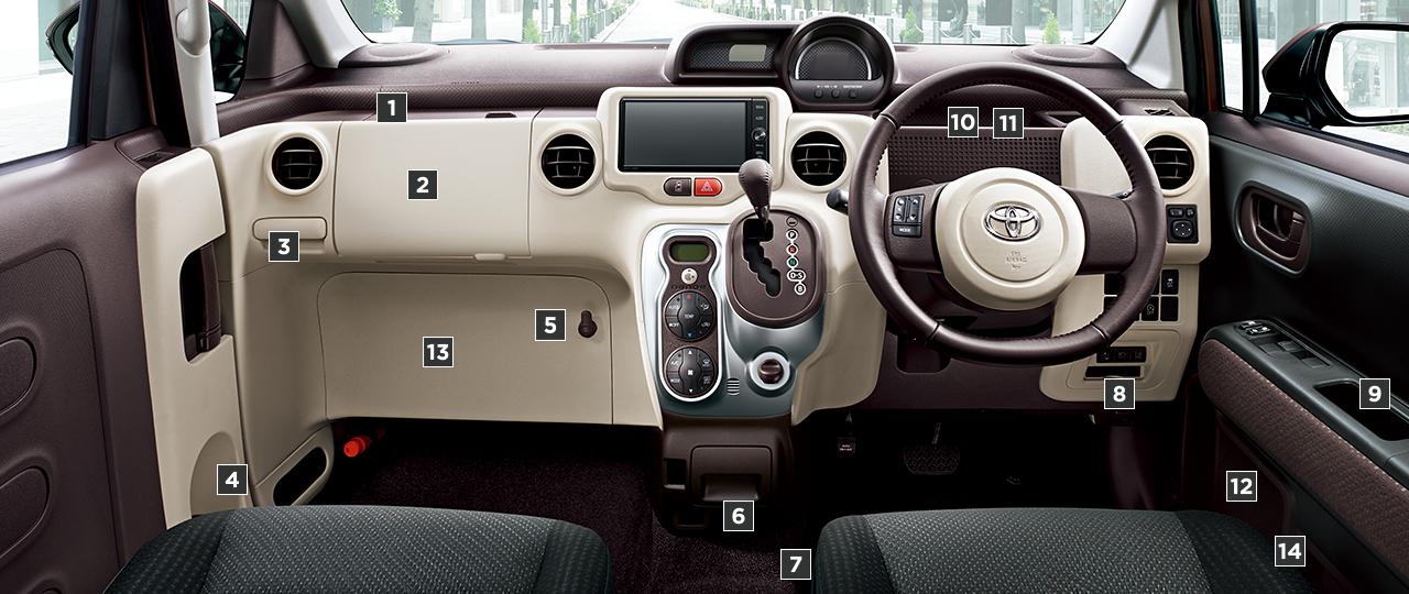 G(2WD)。内装色のフロマージュは設定色(ご注文時に指定が必要です。指定がない場合はプラムになります)。