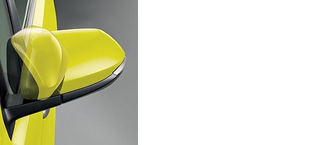 オート電動格納式リモコンカラードドアミラー(サイドターンランプ付)