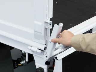 ワンタッチサイドゲートサポート