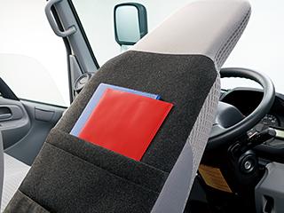 シートバックポケット(運転席)