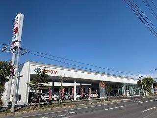 旭川トヨタ自動車 留萌店の外観写真
