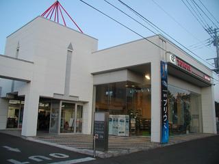 旭川トヨタ自動車 遠軽店の外観写真