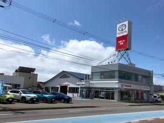 札幌トヨタ自動車 伊達店の外観写真
