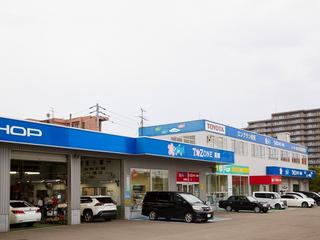 札幌トヨタ自動車 T-ZONE南郷店の外観写真