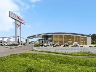 青森トヨタ自動車 十和田店の外観写真