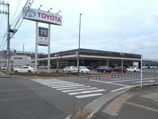 宮城トヨタ自動車 石巻店の外観写真
