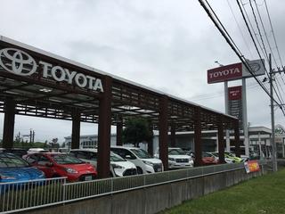 宮城トヨタ自動車 岩沼店の外観写真
