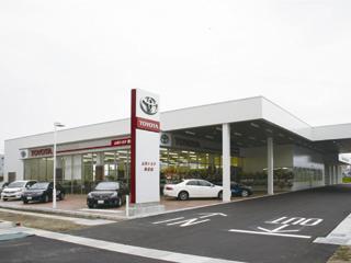 山形トヨタ自動車 新庄店の外観写真