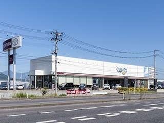 福島トヨタ自動車 くるまックス本宮店の外観写真