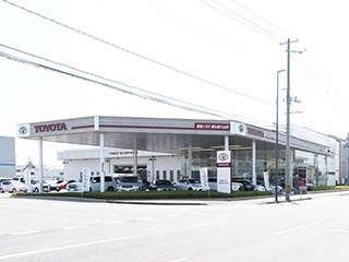 福島トヨタ自動車 郡山富久山店の外観写真