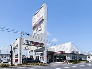 福島トヨタ自動車 いわき平店の外観写真