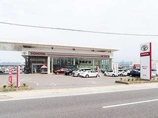 福島トヨタ自動車 会津店の外観写真
