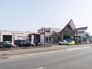 福島トヨタ自動車 白河店の外観写真