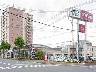 福島トヨタ自動車 郡山並木店の外観写真