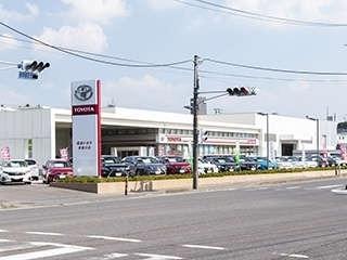 福島トヨタ自動車 須賀川店の外観写真